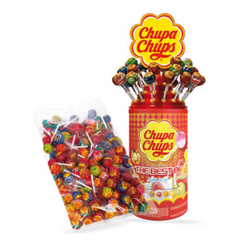 CHUPA CHUPS THE BEST OF TUBO 100 + BOLSA 120