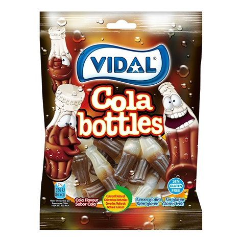 BOTELLAS COLA  B-100GRS VIDAL