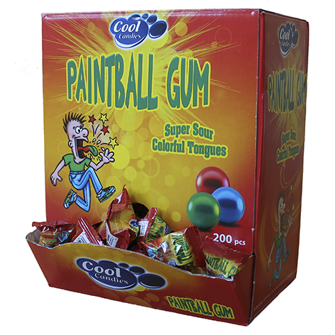 CHICLE INFANTIL  MONOPIEZA  C/A PINTALENGUAS 4,6 GRS